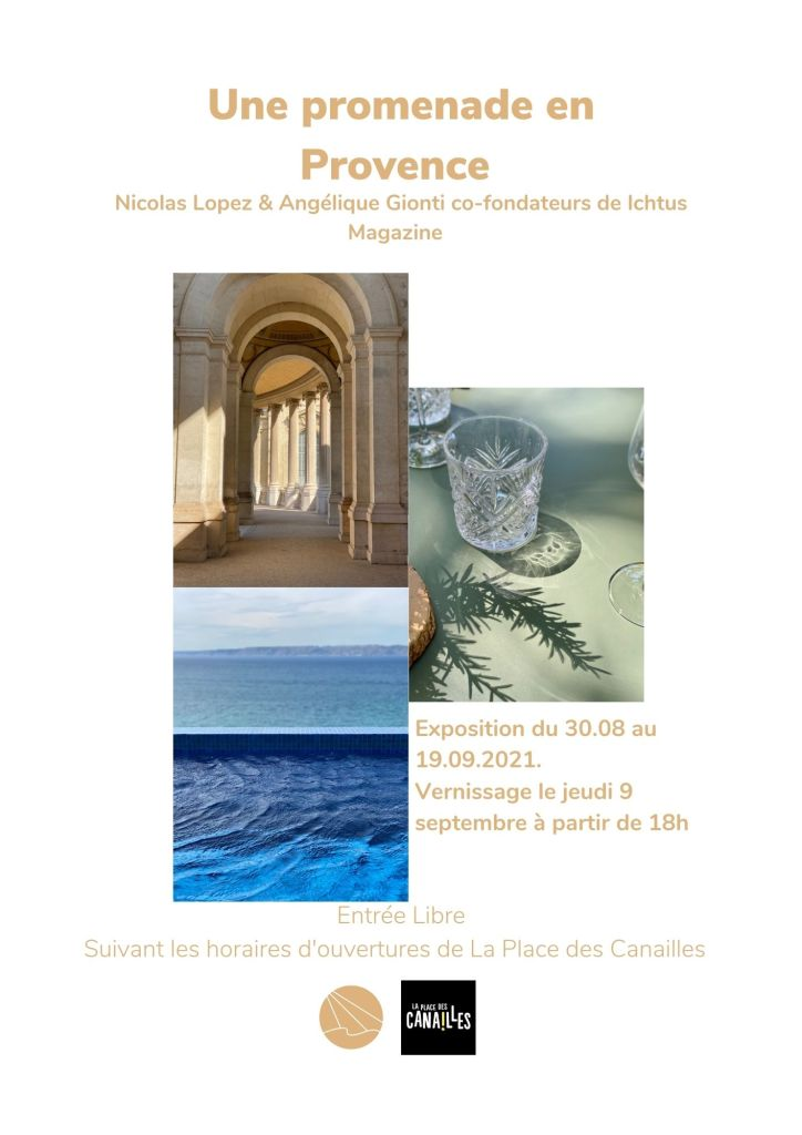 Exposition Ichtus Magazine - Fonds de Dotation Maison Mode Méditerranée